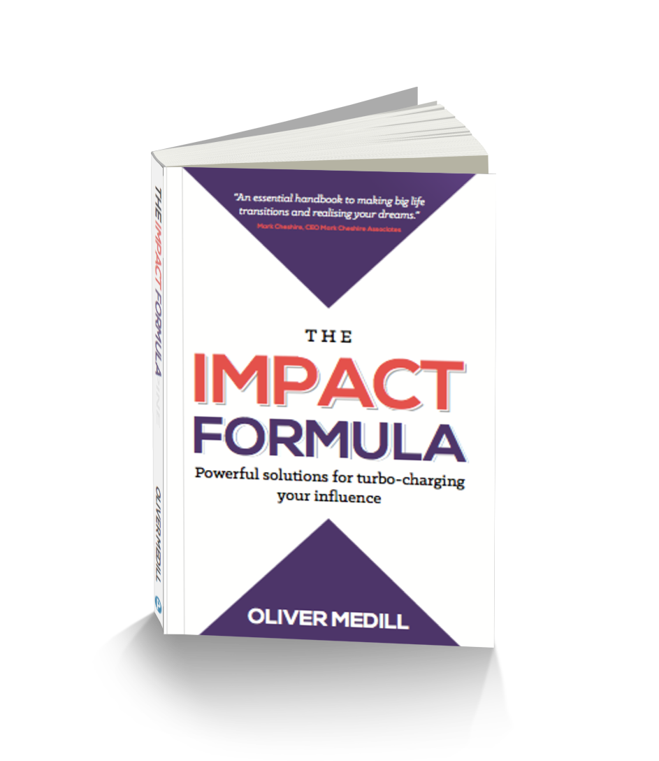 The Impact Formula by Oliver Medill Public Speaking Coach for All About Impact